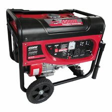 4,500 Watt Portable Gasoline Generator