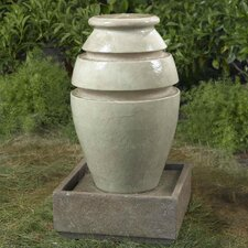 Jar Outdoor/Indoor Water Fountain