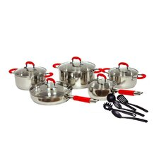 Classic 2 Stainless Steel 15 Piece Cookware Set
