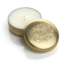 Classic Toile Japanese Quince Travel Candle