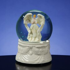 Praying Angel Water Globe