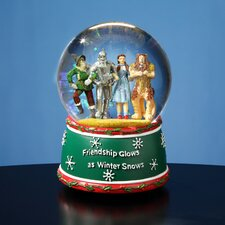 Friendship Glows 4 Character Holiday Water Globe