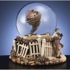 Wizard of Oz Rotating Tornado Water Globe