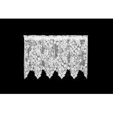 Dogwood Rod Pocket Scalloped Tier Curtain
