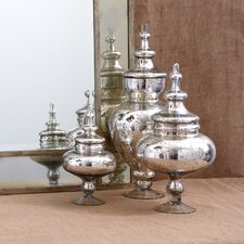 Pentimento™ 3 Piece Vintage Covered Jar Set