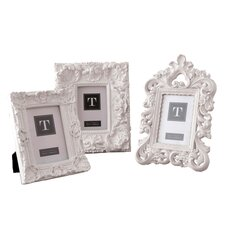 Mod Ornate Photo Frame (Set of 3)