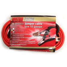 12 Ft. Jumper Cables, 10 Gauge