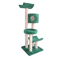 "66"" Condo, Bed and Cradles Cat Tree"