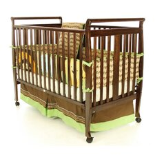 Bella Sleigh Convertible Crib