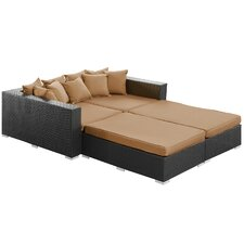 Palisades Outdoor 4 Piece Daybed Set with Cushions