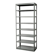 DuraTech Shelving Heavy-Duty Pass-Through Type Individual Unit with 8 Shelves