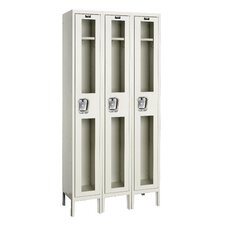 Safety-View Locker Single Tier 3 Wide (Knock-Down)