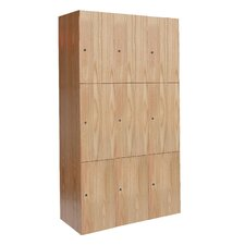 All-Wood Club Assembled Locker