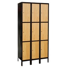 Metal-Wood Hybrid Knock-Down Locker