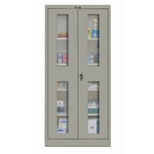 400 Series Stationary Ventilated Assembled Storage Cabinet