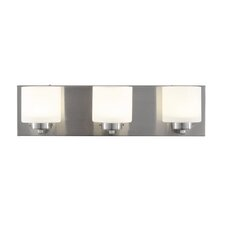 Clean 3 Light LED Vanity Light
