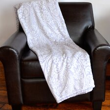 Lasercut Embossed Throw