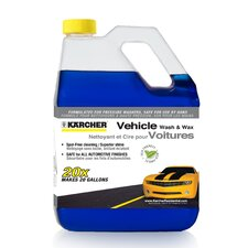 Vehicle Wash and Wax Gas Pressure Washer Detergent 1 Gallon