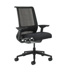 Think Mid-Back Leather Office Chair