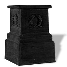 Laurel Square Leaf Pedestal