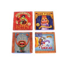 Muppets Glass Print Coaster (Set of 4)