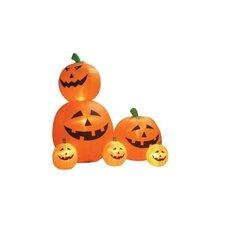 6' Halloween Inflatable Animated Pumpkins