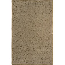 Gardenia Brown, Hand-Tufted Rug