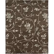 Orma Design Chocolate, Hand-Knotted Rug