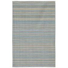 Dhurries Pastel Blue Rug