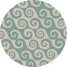 Coastal Living(R) I-O Blue Coastal Rug