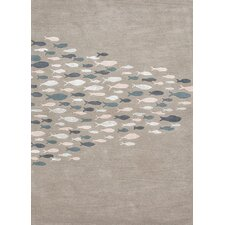 Coastal Living(R) Hand-Tufted Blue Coastal Rug