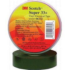 "3/4"" X 66' Black Super 33+ Vinyl Electrical Tape"