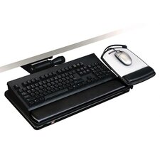 Easy Adjust Keyboard Tray, 19-1/2w x 10-5/8d, Black