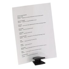 Document Wedge, Holds 20 Documents, Black