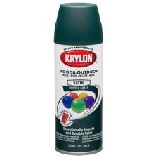 12 Oz Hunter Green Indoor and Outdoor Spray Paint Satin