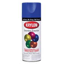 Flat White Interior/Exterior Decorator Spray Paint