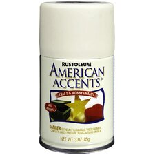 3 Oz Heirloom White Satin Craft & Hobby Spray Enamel 209688