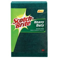 Scotch-Brite Heavy Duty Scour Pad (8 Count)