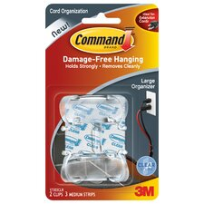 Large Command Cord Clip (2 Count)