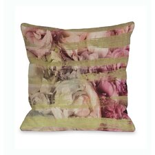 Oliver Gal Field of Roses Pillow