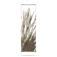 Thatch Slat Hanging Panel in Grass