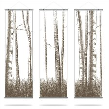 Timber Slat Hanging Panel Collection