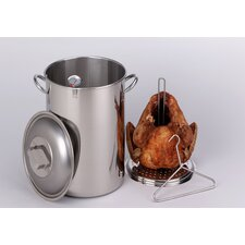 Turkey Pot with Lid, Rack and Hook