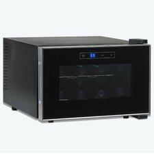 Silent 8 Bottle Touchscreen Wine Refrigerator