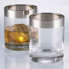 Madison Avenue Double Old Fashioned Glasses (Set of 2)