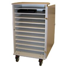 11 Unit Laptop Cart