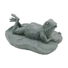 Resin Frog Pond Splitter Fountain