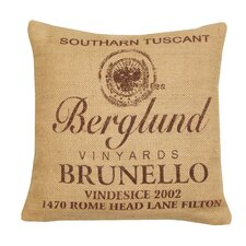 Brunello Jute Cotton Pillow
