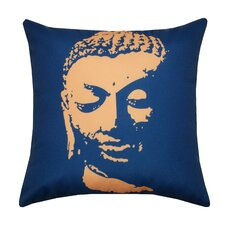 Buddha Face Polyester Pillow