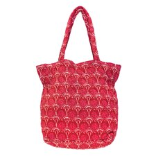 Susan Floral Reversible Cotton Bag